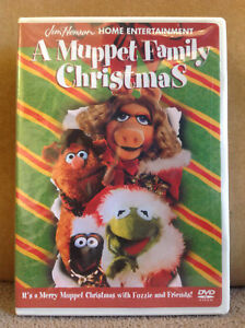 A-Muppet-Family-Christmas-RARE-DVD-2001-NEW-amp-FACTORY-SEALED