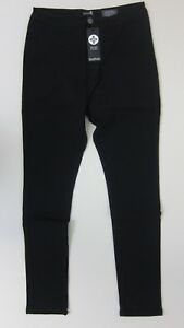 b99e9c67302 Boohoo Plus Teresa High Rise Tube Jeans - US 20 - Black - NWT   eBay
