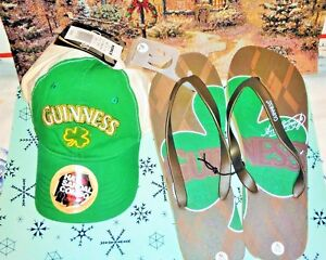 92ed2de35b42 NWT GUINNESS GIFT SET MENS GIFT SET BASEBALL CAP   SHOES XL 12 13 ...