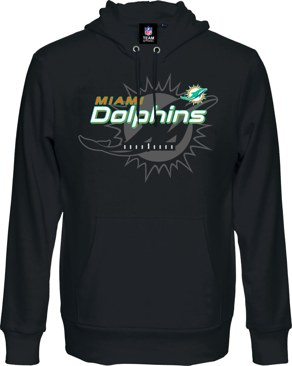 NFL Football MIAMI DOLPHINS DOLPHINS DOLPHINS Hoody Kaputzenpullover Great Value hooded Sweater f64cb3