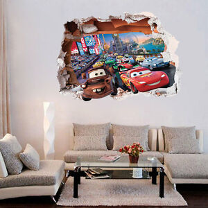 Disney Pixar Cars Lightning McQueen Mater Nursery Kids