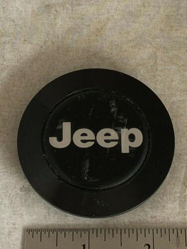 Jeep Cherokee Comanche Black Wheel Center Cover Hubcap Cap OE 52003759
