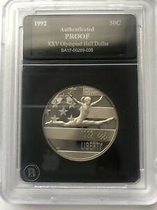 1992-S-XXV-Olympiad-Half-Dollar-Proof-Modern-Commemoratives