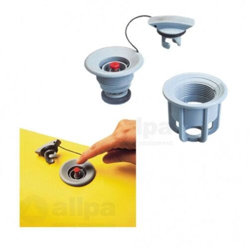 Universalventil mit Push-Push System komplett Schlauchnippelkit Allpa