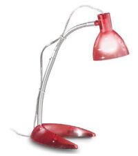 LAMPADA LUME DA TAVOLO IN METALLO COLORE ROSSO 230V E14 ROSSINI P.5723-R
