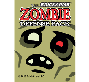 Brickarms NEW Zombie Defense Pack 2018 for Lego Minifigures