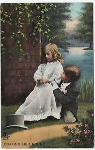 RAPHAEL-TUCK-Coaxing-Her-Round-Love-039-s-Young-Dream-8059-c1910s-postcard