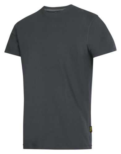 Snickers 2502 T-Shirt Classic Mens T-Shirt SnickersDirect Steel Grey