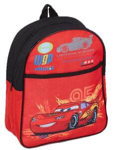 827fba42fc Caricamento dell'immagine in corso Zainetto-Asilo-zaino-Scuola-piccolo-Rosso -Cars-Disney-