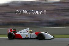 Ayrton Senna McLaren MP4/8 French Grand Prix 1993 Photograph