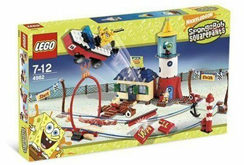 LEGO 4982 - SpongeBob Squarepants - Mrs. Puff's Boating School w/ BOX - 2007
