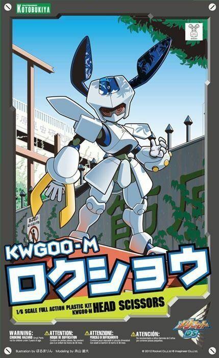 Kotobukiya Medabots KWG00-M Rokusho 1 6 Plástico Modelo Kit Nuevo de Japón F   S