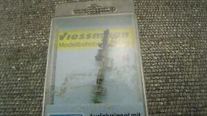 Viessmann-4416-Ausfahrsignal-mit-Vorsignal-Patentsteckfuss-Spur-N-NEU-OVP