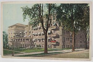 USA-Postcard-Postcard-Ak-Weldon-Hotel-Greenfield-Mass-One-Cent-A2351