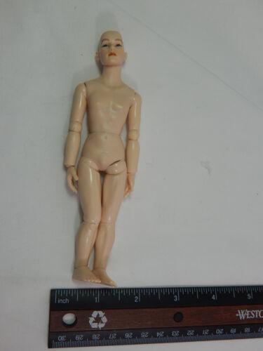 "Heidi Ott Dollhouse Miniature Adult Male 6/"" Nude Man with hair blue eyes #XKM08"