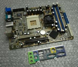 Shuttle-FN41-V1-4-Socket-462-Motherboard-complete-with-Back-Plate