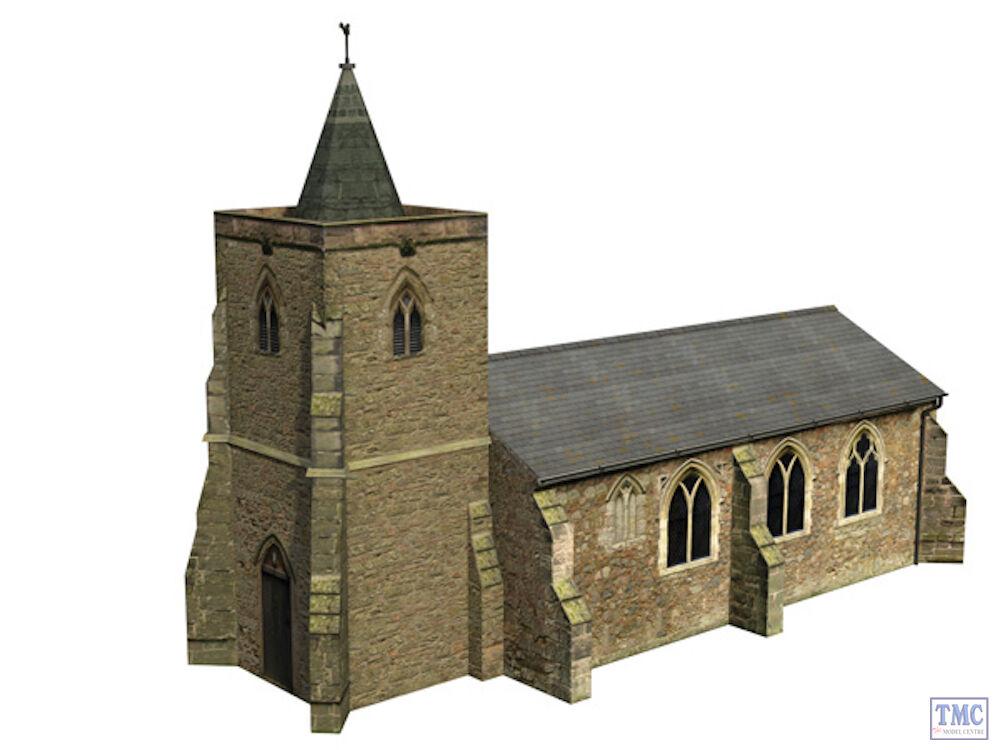 44-0052 Scenecraft OO Gauge Church