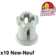 Lego technic - 10x Technic Bush gris clair/light bluish gray 3713 NEUF
