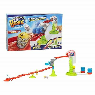 Mighty Beanz Slammer Time Race Track 0MB-66504 BRAND NEW