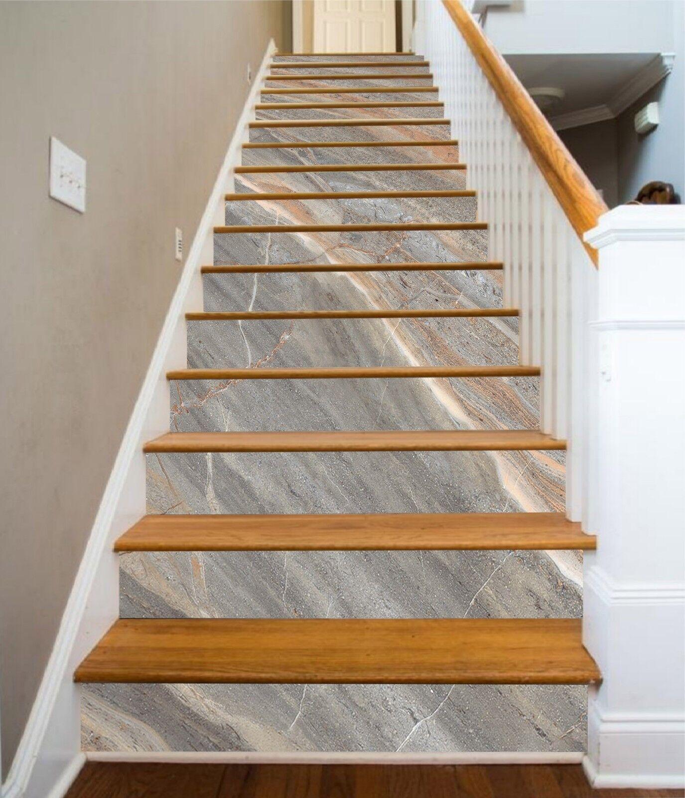 3D Marmor Linie 74 Fliese Marmor Stair Risers Fototapete Vinyl Aufkleber Tapete