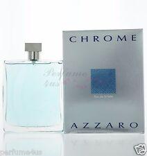 Azzaro Chrome Eau de Toilette 6.8 Oz /200mL for Men Brand new in Sealed Box