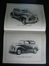 AUSTIN A40 devon dorset BROCHURE MANUAL A 40 pickup van 1949