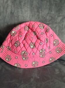 VERA-BRADLEY-PINK-FLAMINGO-CRUSHER-SUMMER-TIME-HAT-LIMITED-EDITION