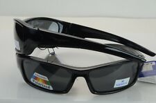 16bad4a2290 Wychwood Black Wrap Around Polarised Smoke Lens Sunglasses - T9008 ...
