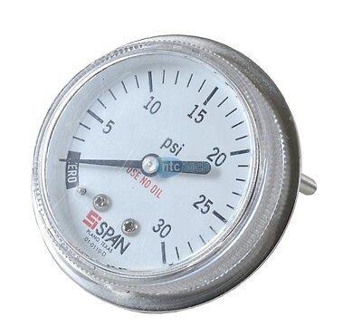 0-160psi Silverline Red calibre de prueba de presión de agua 0-11bar 482913