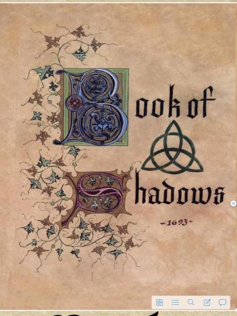 Free Book Of Shadows Pdf