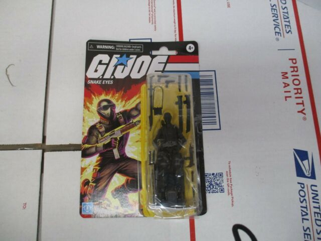 HASBRO G.I. JOE SNAKE EYES E9056 FIGURE NEW IN OPEN PKG  FAST/FREE SHIPPING