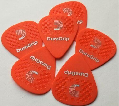 by D/'Addario .60mm 6 Picks in pack D/'Addario Planet Waves DuraGrip