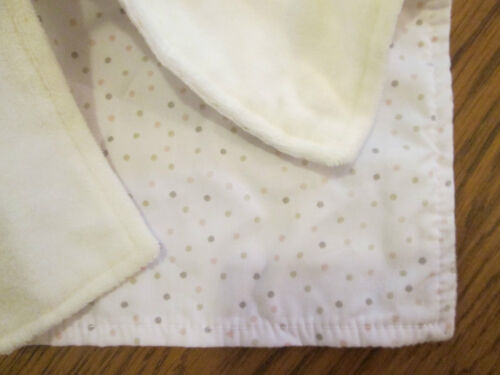 Heart ears and spots//dots under the blanket M/&S white elephant comfort blanket