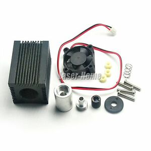 Housing-w-405nm-450nm-Blue-Glass-Lens-amp-Fan-for-5-6mm-TO-18-Laser-Diode-Module