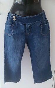 Diva Jeans blue 3/4 Jeans/ long denim shorts - Ladies /girls Size ...