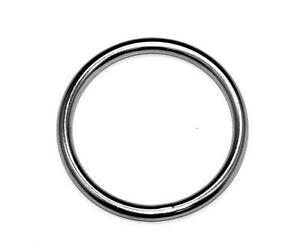 Marine-Round-Ring-8-mm-x-40-mm-5-16-034-x-1-5-8-034-Grade-316-Stainless-Steel
