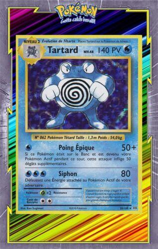 Tartard Holo 25//108 XY12:Evolutions Carte Pokemon Neuve Française
