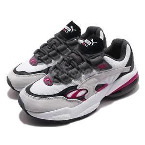 f180c7fec10c Puma Cell Venom White Fuchsia Purple Black Men Running Shoes ...