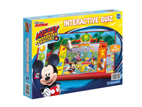 2x Clementoni Disney Cars Interactive Quiz and Sofia the first 1000 Quizzes