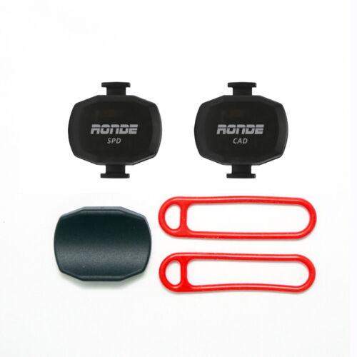 Ronde Gen 2 Speed and Cadence Sensor Set Ant Bluetooth For Garmin Edge 520 820