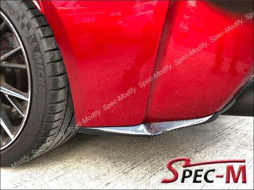 G Style Carbon Fiber Rear Bumper Splitter Lip for 2015 LEXUS RCF RC-F CF