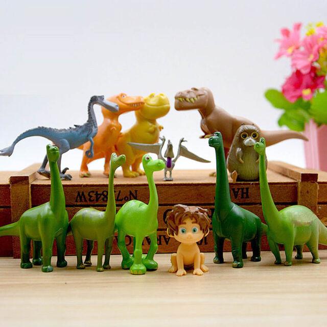 12pcs set disney the good dinosaur figure toy arlo spot budda ramsey