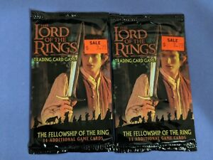 Lotr TCG//CCG Fellowship Of The Ring Booster Box
