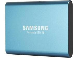 "SAMSUNG T5 250GB 2.50"" USB 3.1 V-NAND Portable SSD MU-PA250B/AM"