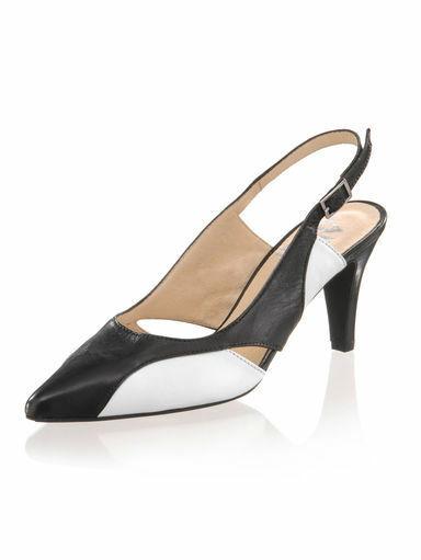 Talla 43 (9) (9) (9) zapatos señora zapatos pumps Sling calidad cuero Alba Moda  tienda de venta en línea