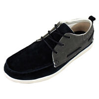 Mens Caterpillar CAT Alec Oxford Boat Shoes Leather Deck Shoe Trainers Trainer