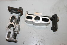1983 SUZUKI GS550L GS 550 SWINGARM CHAIN ADJUSTERS TENSIONERS BRACKETS