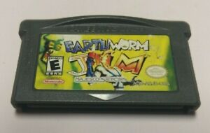 Earthworm-Jim-Nintendo-Game-Boy-Advance-2001-GAME-ONLY-GBA