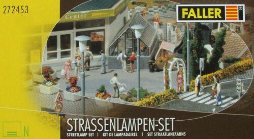 Epo IV Faller 272453 Spur N 56 Straßenlampen in 4 Verschiedenen Ausführungen