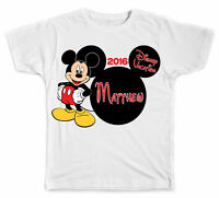 Personalized Disney Mickey Head with Mickey Mouse T-Shirt